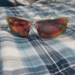 Mens red tint sunglasses